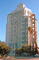 Los Angeles: Sunset Tower, Sunset Blvd. 1929-31. Leland A. Bryant.  Photo '82.
