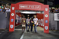 Tampa, FL - March 3, 2016: The USWNT defeated England 1-0 during the SheBelieves Cup at Raymond James Stadium.