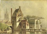 De Koepoort te Delft, Petrus Gerardus Vertin, 1850 - 1892