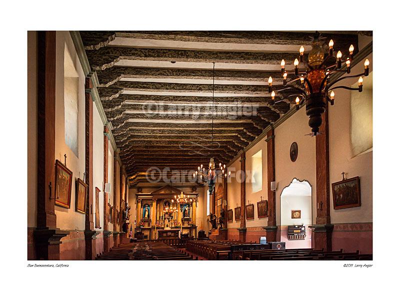 Chapel, San Buenaventura by Larry Angier.