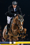 Marc Houtzager of Netherlands riding Baccarat in action during the Longines Grand Prix as part of the Longines Hong Kong Masters on 15 February 2015, at the Asia World Expo, outskirts Hong Kong, China. Photo by Victor Fraile / Power Sport Images