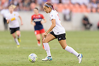 Houston, TX - Sunday Oct. 09, 2016: Jaelene Hinkle during the National Women's Soccer League (NWSL) Championship match between the Washington Spirit and the Western New York Flash at BBVA Compass Stadium. The Western New York Flash win 3-2 on penalty kicks after playing to a 2-2 tie.