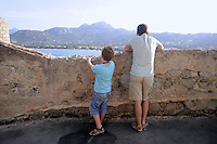 - Corsica, Calvi, the Citadel<br /> <br /> - Corsica, Calvi, la Cittadella