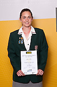 Girls Lawn Bowls winner Rebecca Jelley from Westlake Girls High School. ASB College Sport Auckland Secondary School Young Sports Person of the Year Awards held at Eden Park on Thursday 12th of September 2009.