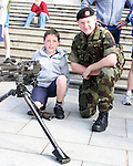 Gormanston Army Members start their Charity Challenge