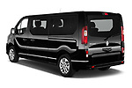 Car pictures of rear three quarter view of a 2020 Renault Trafic Space Class 4 Door Passenger Van angular rear