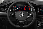 Car pictures of steering wheel view of a 2019 Volkswagen Jetta SEL 4 Door Sedan