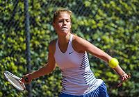 Hilversum, Netherlands, August 7, 2017, National Junior Championships, NJK, Romy Pols<br /> Photo: Tennisimages/Henk Koster