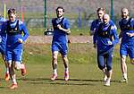 St Johnstone Training...23.04.21<br />Stevie May pictured during training this morning ahead of Sundays Scottish Cup game against Rangers.<br />Picture by Graeme Hart.<br />Copyright Perthshire Picture Agency<br />Tel: 01738 623350  Mobile: 07990 594431