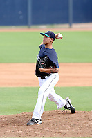 Charles Kaalekahi - 2010 AZL Mariners - pitching against the AZL Padres in the final game of the regular season at Peoria Stadium - 08/29/2010.Photo by:  Bill Mitchell/Four Seam Images..