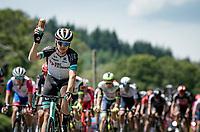 Lucas Ham)ilton (AUS/BikeExchange) indicating he needs a new water bottle.<br /> <br /> Stage 7 from Vierzon to Le Creusot (249km)<br /> 108th Tour de France 2021 (2.UWT)<br /> <br /> ©kramon