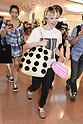Carly Rae Jepsen arrives at Tokyo International Airport