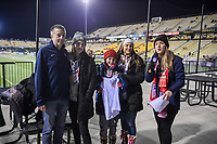 COLUMBUS, OH - NOVEMBER 07: USA fans during a game between Sweden and USWNT at MAPFRE Stadium on November 07, 2019 in Columbus, Ohio.