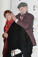 Jean-Pierre MARIELLE et sa femme Agathe NATANSON - Gala de l'Association pour la Recherche sur Alzheimer 30 janvier 2017 - Salle Pleyel - Paris - France # GALA DE L'ASSOCIATION POUR LA RECHERCHE SUR ALZHEIMER A PARIS