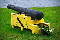 Old canon Nova Scotia, Canada