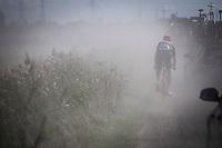 Lars Boom (NED/Roompot-Charles) riding the dust<br /> <br /> Antwerp Port Epic 2019 <br /> One Day Race: Antwerp > Antwerp 187km<br /> <br /> ©kramon