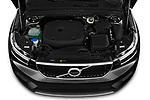 Car Stock 2020 Volvo XC40 Momentum 5 Door SUV Engine  high angle detail view