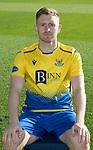 St Johnstone FC 2020-21 Season.<br />Liam Craig<br />Picture by Graeme Hart.<br />Copyright Perthshire Picture Agency<br />Tel: 01738 623350  Mobile: 07990 594431