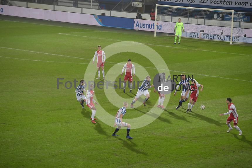 VOETBAL: HEERENVEEN: 03-03-2021, Abe Lenstra Stadion SC Heerenveen - AJAX, uitslag 0-3, ©foto Martin de Jong