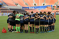 Houston, TX - Wednesday May 23, 2018: Houston Dash vs Seattle Reign FC at BBVA Compass Stadium.