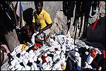 Citizens of Haiti in and around of Port Au Prince. President Jean Betrand Aristide was just elected in January of 2001.