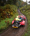 06/10/18<br /> <br /> Brian Partridge & Richard Nikel, Ridge Cannon.<br /> <br /> After battling hours of heavy rain, competitors slither up a hill known as the corkscrew in near Kettleshulme in the Cheshire Peak District National Park. Hundreds of other cars and motorcycles took part in today's Edinburgh Trial. The Motorcyling Club's 94th annual long distance navigation trial started near Tamworth at midnight and finishes this afternoon near Buxton. The original trial ran from London to Edinburgh.<br /> <br /> All Rights Reserved: F Stop Press Ltd. +44(0)1335 344240  www.fstoppress.com www.rkpphotography.co.uk