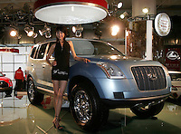 A Changfeng Liebao_CS6Y is shown in The Beijing International Automobile Exhibition..19 Nov 2006