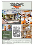 Picacho Peak RV Resort Model Homes Flyers