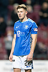 Hearts v St Johnstone…26.01.19…   Tynecastle    SPFL<br />Callum Hendry<br />Picture by Graeme Hart. <br />Copyright Perthshire Picture Agency<br />Tel: 01738 623350  Mobile: 07990 594431