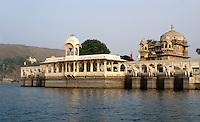 Jagmandir Palast in Udaipur, Rajasthan, Indien