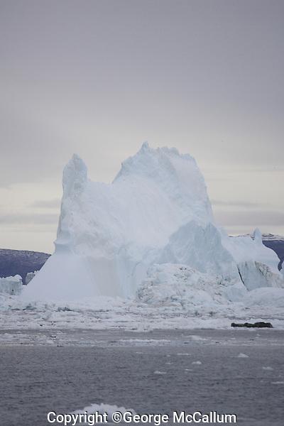 Tall Iceberg, Ilulissat, Disco bay Greenland