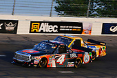NASCAR Camping World Truck Series<br /> Drivin' For Linemen 200<br /> Gateway Motorsports Park, Madison, IL USA<br /> Saturday 17 June 2017<br /> Christopher Bell, JBL Toyota Tundra and Todd Gilliland, Pedigree Toyota Tundra<br /> World Copyright: Russell LaBounty<br /> LAT Images