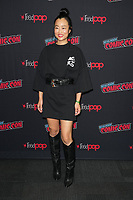 """NEW YORK CITY - OCTOBER 9:   Diana Bang attends a 2021 New York Comic Con event for FX's """"Y: The Last Man"""" at the Javits Center on October 9, 2021 in New York City.  (Photo by Ben Hider/FX//PictureGroup)"""