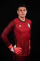 David Ochoa during a portrait studio session for the U23 Olympic Qualifying team 2021.