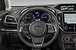 Car pictures of steering wheel view of a 2020 Subaru XV-boxer Premium 5 Door SUV Steering Wheel
