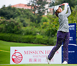 Xiyu Lin of China in action during the Hyundai China Ladies Open 2014 on December 12 2014, in Shenzhen, China. Photo by Xaume Olleros / Power Sport Images