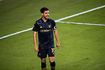 Carlos Vela of Los Angeles FC (USA) in action against Club America (MEX) during their CONCACAF Champions League Semi Finals match at the Orlando's Exploria Stadium on 19 December 2020, in Florida, USA. Photo by Victor Fraile / Power Sport Images