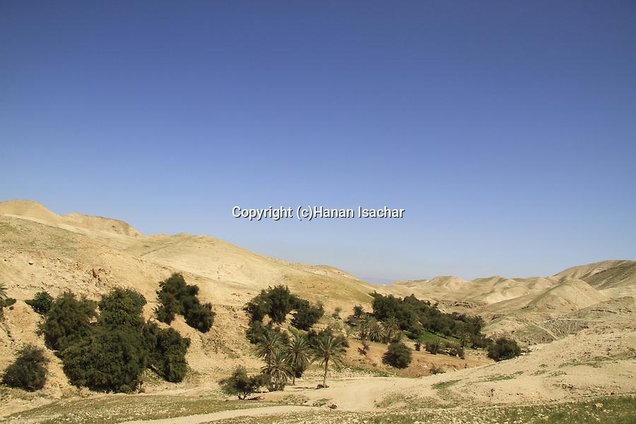 Judean desert, a view of Wadi Qelt