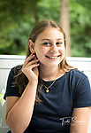 Rebecca's Bat Mitzvah Portraits For Her Sign In Board