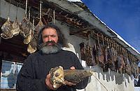 Europe/Suisse/Engadine/Maloja: Chez Renato Giovanoli charcutier et producteur de viande des grisons [Non destiné à un usage publicitaire - Not intended for an advertising use]