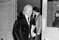 Congres du Parti Quebecois au Patro Roc-Amadour a Quebec , le 26 fevrier 1971 -  Pierre Bourgault<br /> <br /> Photographe : Jacques Thibault- Agence Quebec Presse
