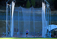 Men's hammer throw. 2021 Capital Classic athletics at Newtown Park in Wellington, New Zealand on Saturday, 20 February 2021. Photo: Dave Lintott / lintottphoto.co.nz