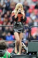 Pre-match entertainment from Pixie Lott