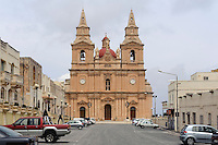 Kirche Our Lady of the Victories in Mellieha, Malta, Europa