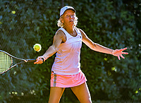 Hilversum, The Netherlands,  August 21, 2020,  Tulip Tennis Center, NKS, National Senior Tennis Championships, Women's single 55+,  Jeanette Ozing 	<br /> Mieke Smits<br /> Photo: Tennisimages/Henk Koster