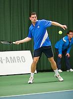 Januari 24, 2015, Rotterdam, ABNAMRO, Supermatch, Rene D' Hooghe<br /> Photo: Tennisimages/Henk Koster