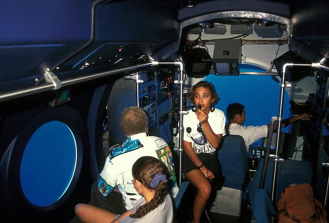Mobilis Submarine off coast of Saint Pierre, Saint Pierre Bay, Martinique, French West Indies