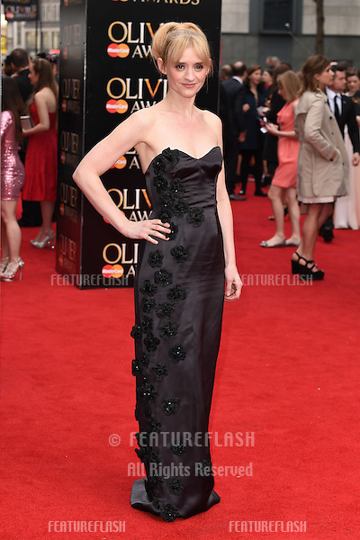 Anne Marie Duff arrives for the Olivier Awards 2015 at the Royal Opera House Covent Garden, London. 12/04/2015 Picture by: Steve Vas / Featureflash