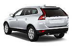 Rear three quarter view of a 2013 Volvo XC60