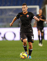 Calcio, Tim Cup: Roma vs Empoli. Ottavi di finale a gara unica. Roma, stadio Olimpico, 20 gennaio 2015.<br /> Roma's Francesco Totti in action during the Italian Cup round of 16 football match between Roma and Empoli at Rome's Olympic stadium, 20 January 2015.<br /> UPDATE IMAGES PRESS/Riccardo De Luca
